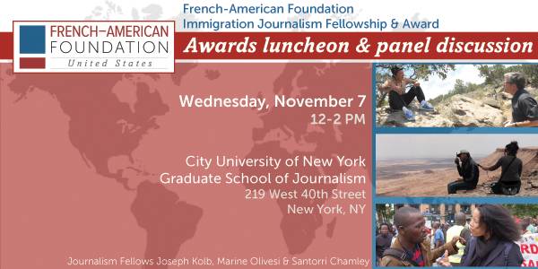 Awards luncheon and panel discussion 2012