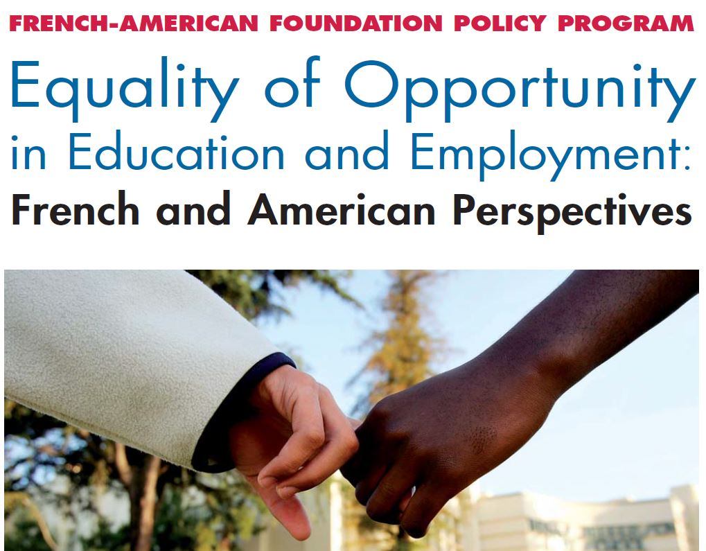 """equality of opportunity in america essay Now the equality of opportunity project team defines the """"american dream"""" as  the financial aspiration that kids will have higher living."""